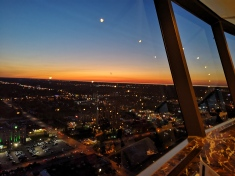 Dinner with a view @ Skylon Tower
