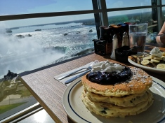 Breakfast with a view @ iHop Tower