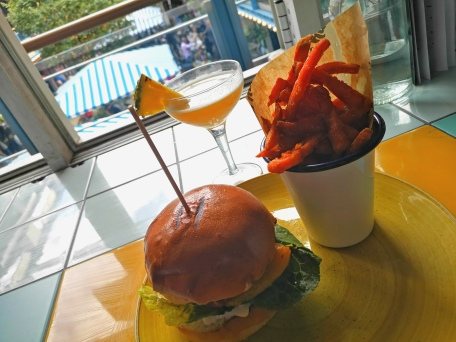 Halloumi Burger - Rum Kitchen - Kingly Court