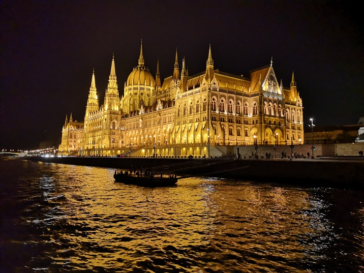 Parliament building from the Danube